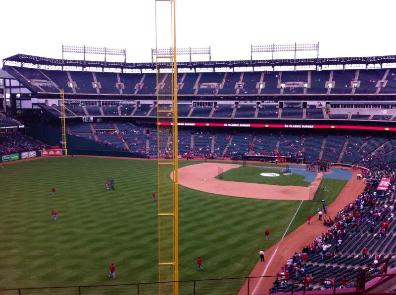 Seating view for Globe Life Park in Arlington Section 208 Row 11 Seat 6