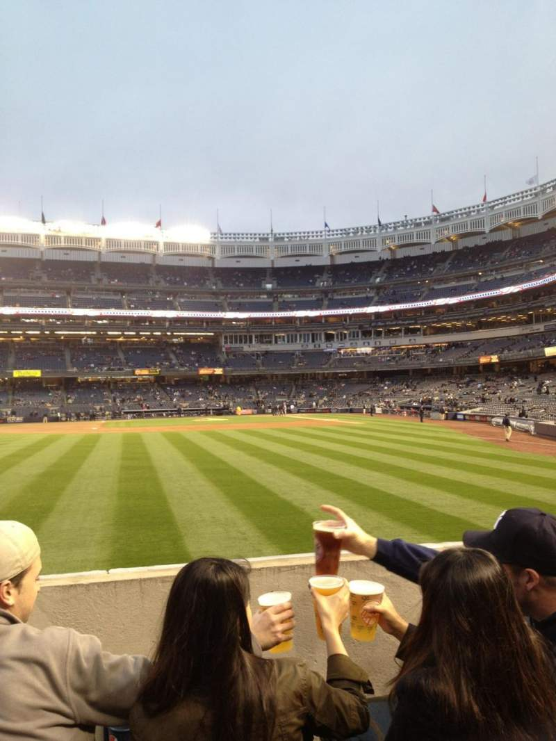 Seating view for Yankee Stadium Section 135 Row 12 Seat R