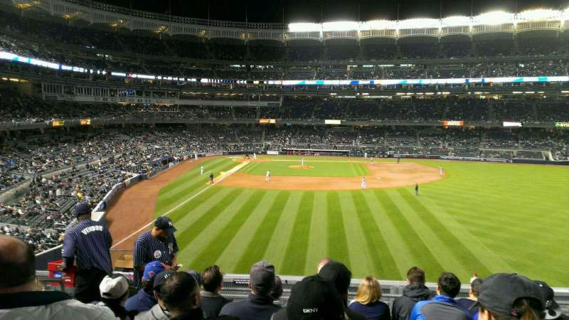 Seating view for Yankee Stadium Section 205 Row 7 Seat 18