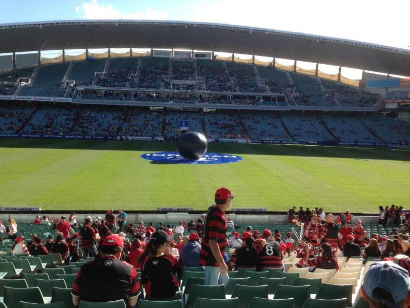 Seating view for Allianz Stadium Section Bay 35 Row GG Seat 21