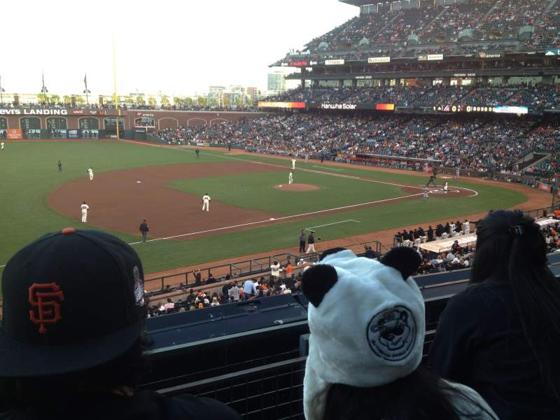 Seating view for AT&T Park Section 226 Row B Seat 9