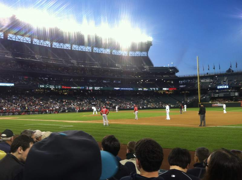 Seating view for Safeco Field Section 119 Row 5 Seat 6