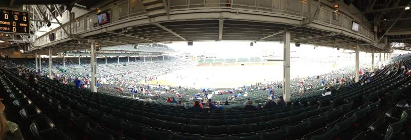 Seating view for Wrigley Field Section 228 Row 17 Seat 110