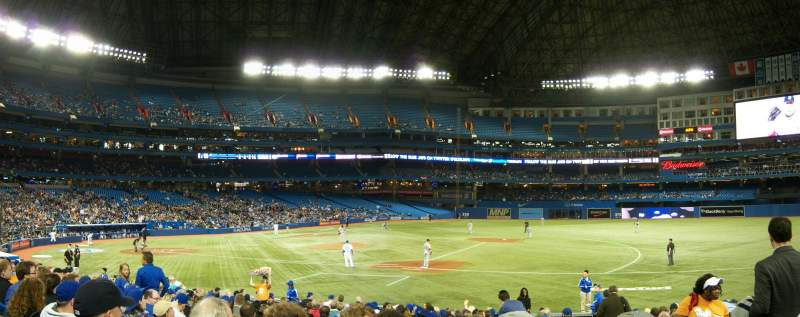 Rogers Centre, section: 115L, row: 19, seat: 102