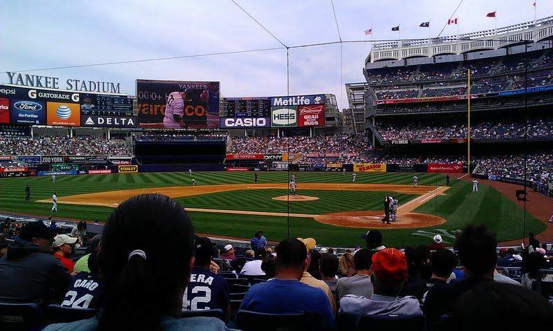 Seating view for Yankee Stadium Section 121B Row 21 Seat 4