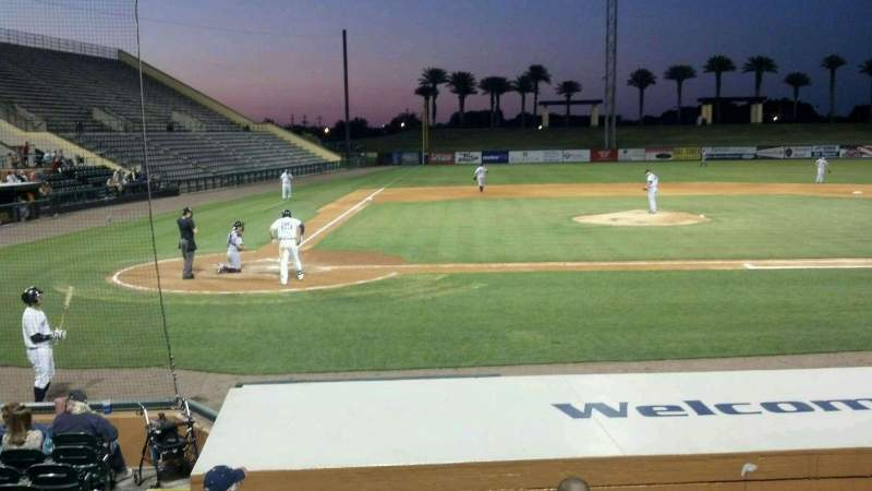 Seating view for Joker Marchant Stadium Section 205 Row A Seat 2