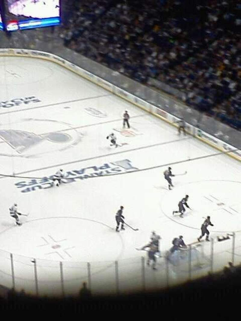 Seating view for Scottrade Center Section 331 Row R Seat 12