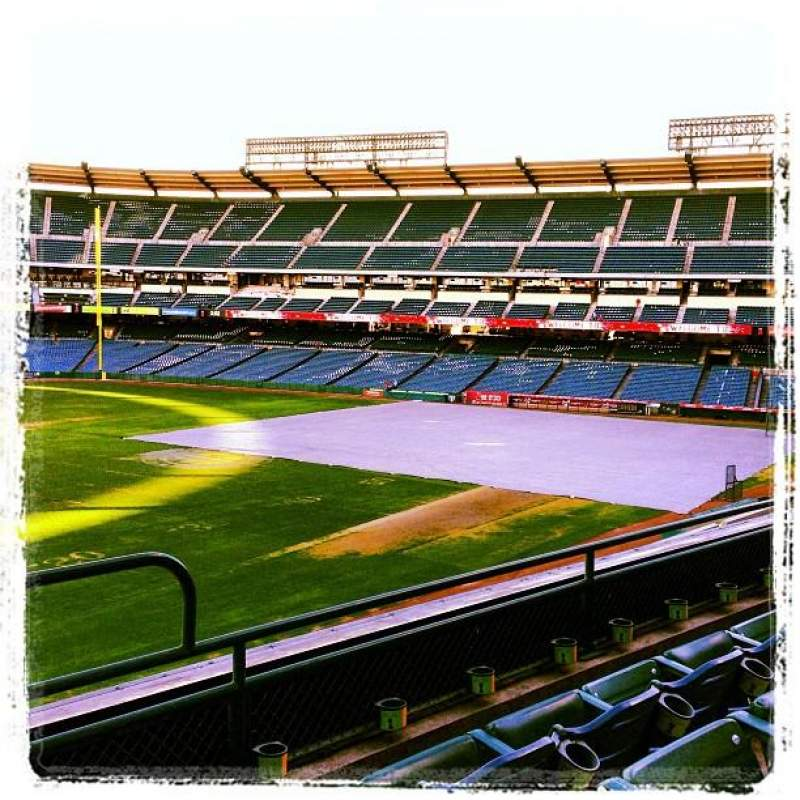 Seating view for Angel Stadium Section 305 Row C Seat 14