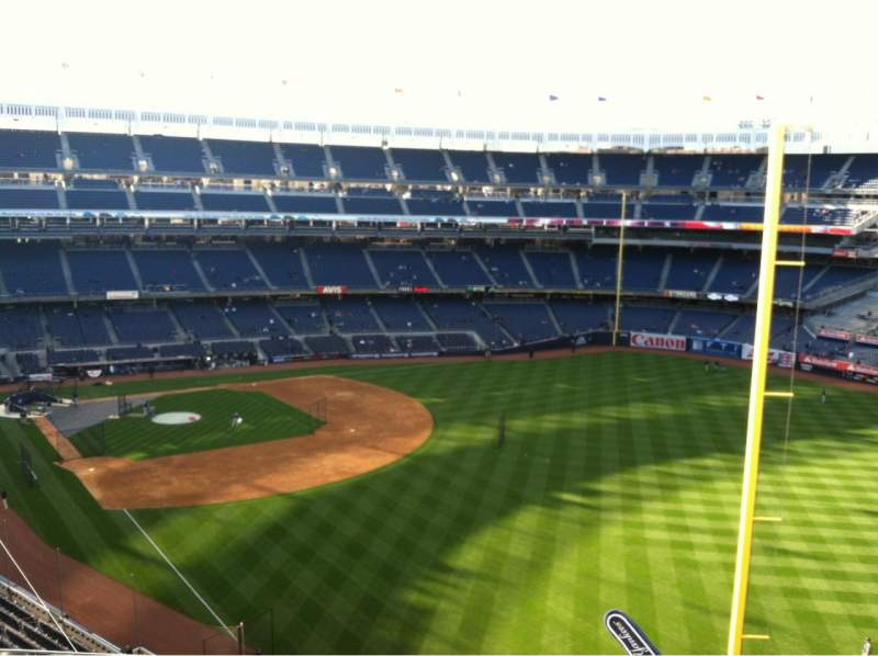 Seating view for Yankee Stadium Section 308 Row 6 Seat 15