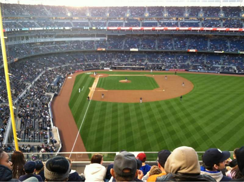 Seating view for Yankee Stadium Section 306 Row 6 Seat 12