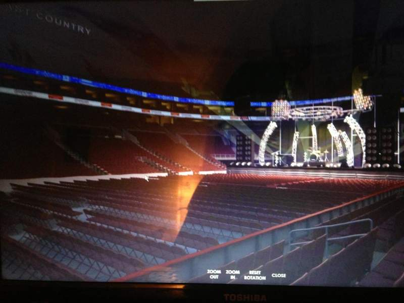 Seating view for Wells Fargo Center Section 112 Row 5 Seat 13