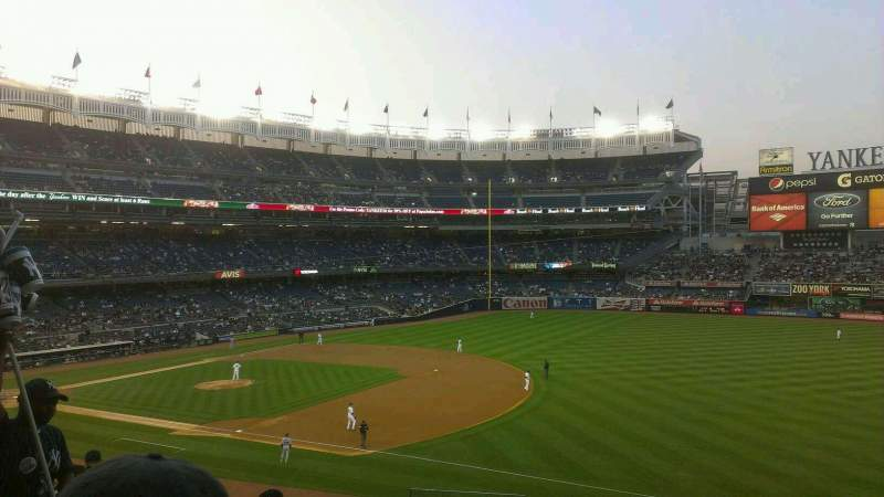 Seating view for Yankee Stadium Section 212 Row 7 Seat 25