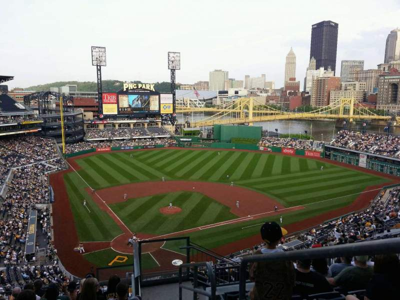 Seating view for PNC Park Section 314 Row P Seat 1