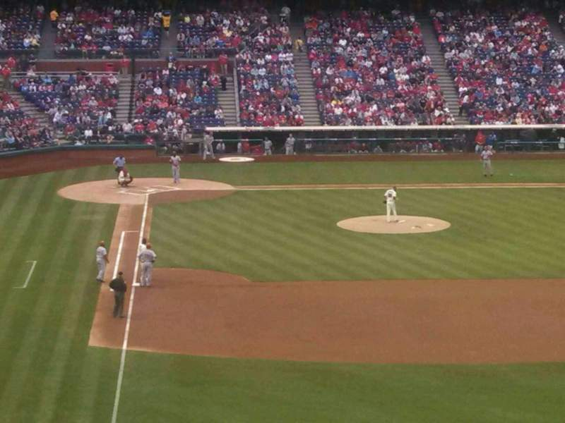 Seating view for Citizens Bank Park Section 205 Row 8 Seat 11