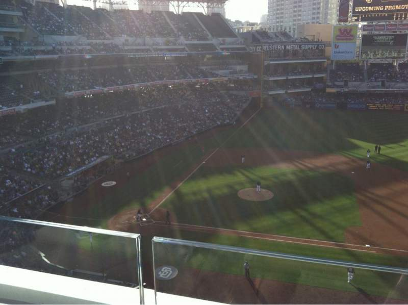 Seating view for Petco Park Section 311 Row A Seat 7