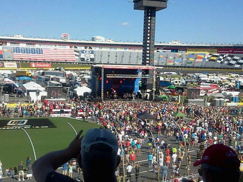 Seating view for Charlotte Motor Speedway Section Ford I Row 23 Seat 18