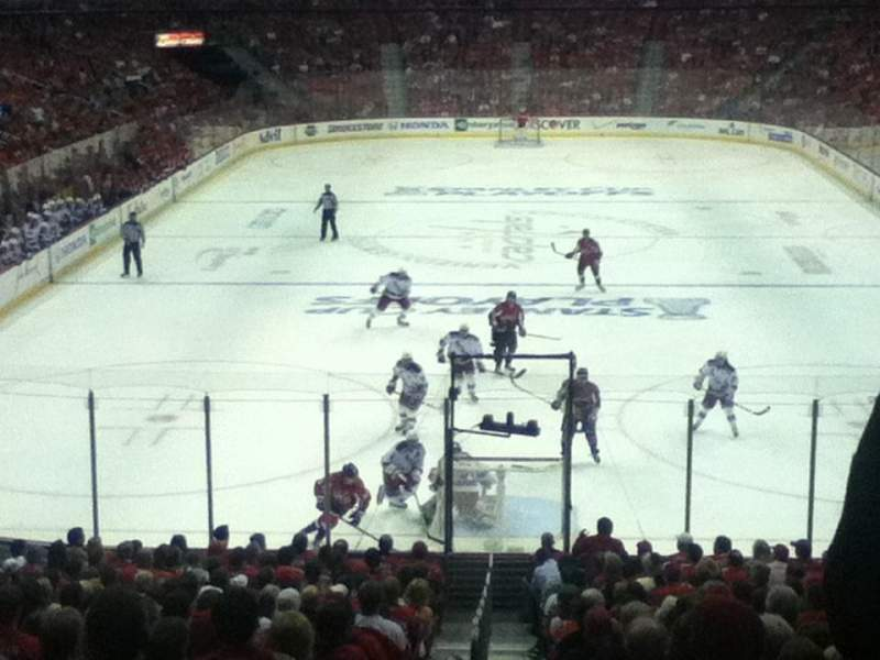 Seating view for Verizon center Section 106 Row t Seat 8