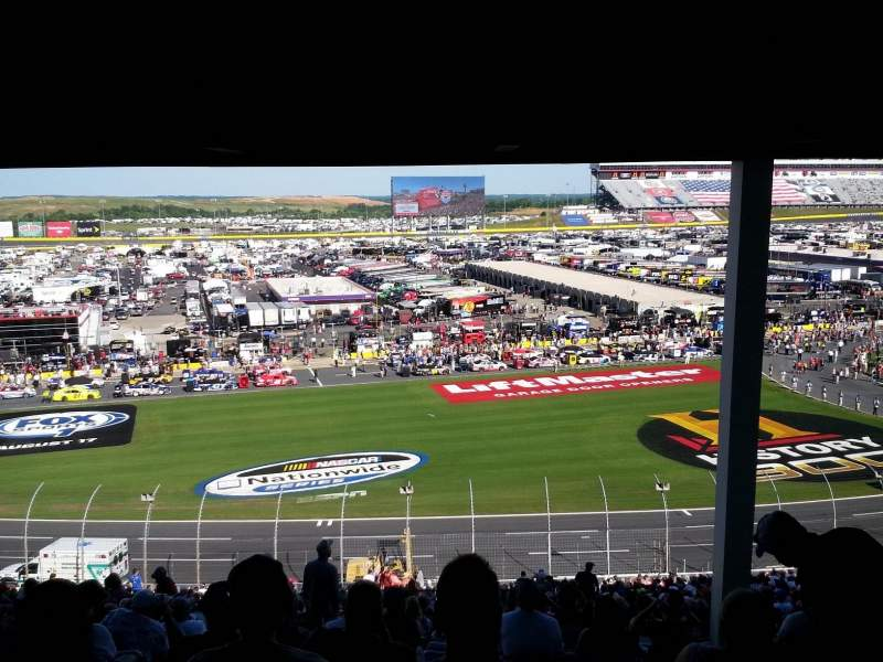 Seating view for Charlotte Motor Speedway Section Chrysler C Row 50 Seat 47