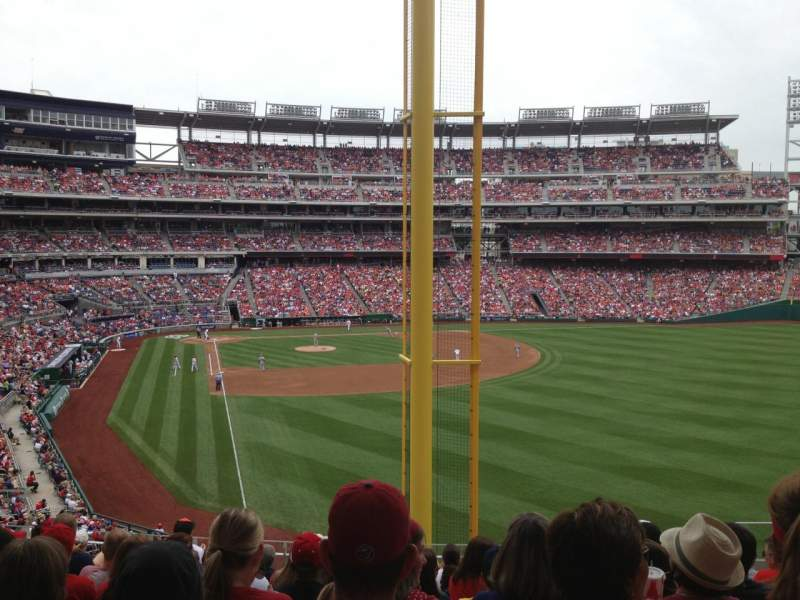 Seating view for Nationals Park Section 235 Row K Seat 7