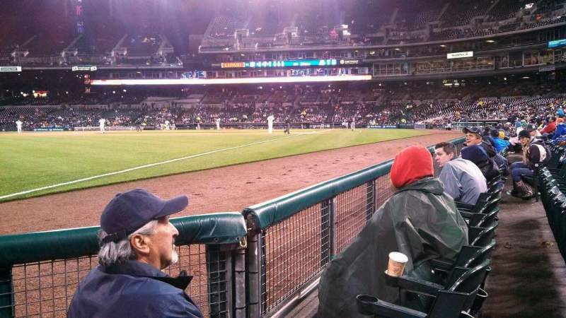 Seating view for Comerica Park Section 142 Row 3 Seat 1