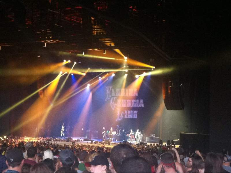 BB&T Pavilion, section: 201, row: V, seat: 20