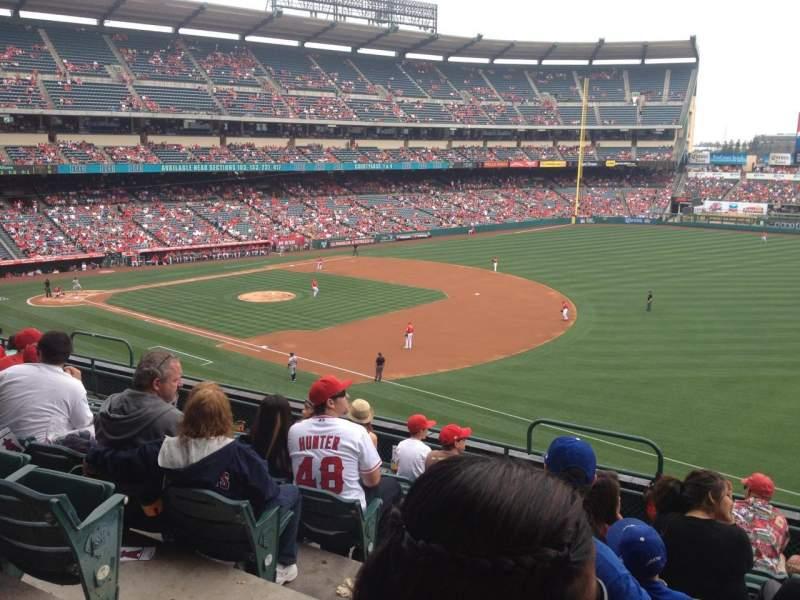 Angel Stadium, section: C341, row: G, seat: 3