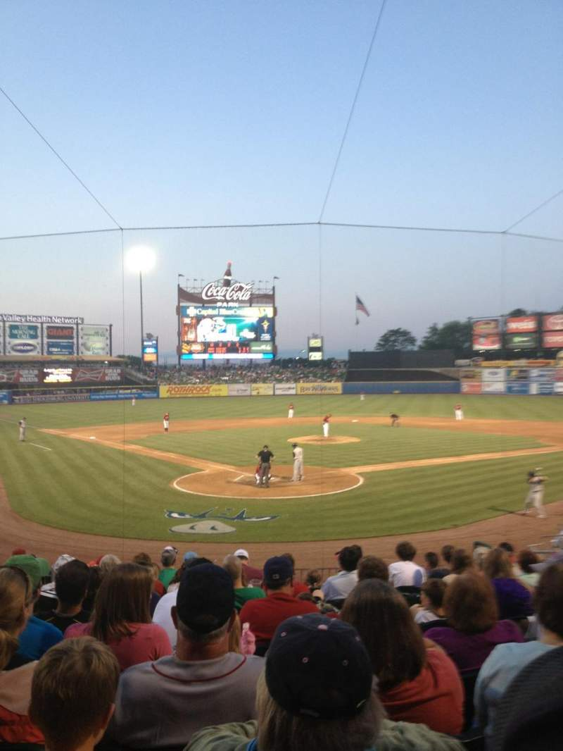 Seating view for Coca-Cola Park Section 111 Row W Seat 6