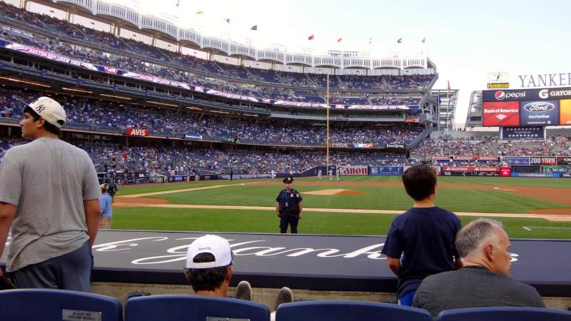 Seating view for Yankee Stadium Section 16 Row 7 Seat 5