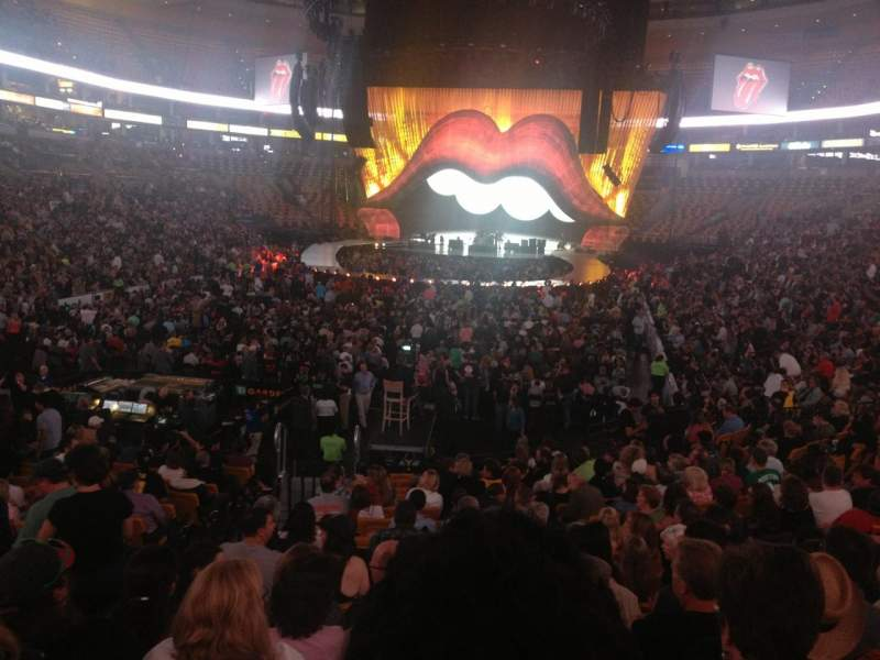 Seating view for TD Garden Section LOGE 5 Row 17 Seat 21