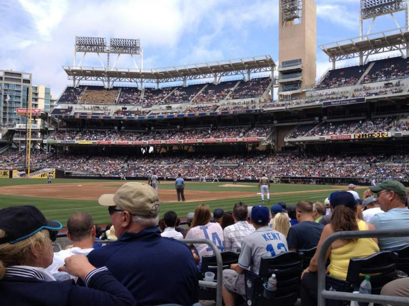 Seating view for PETCO Park Section 116 Row 10 Seat 3
