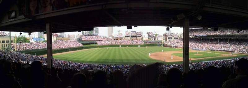 Seating view for Wrigley Field Section 209 Row 17 Seat 109