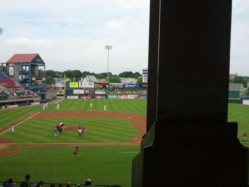 Seating view for McCoy Stadium Section 3 Row JJ Seat 1