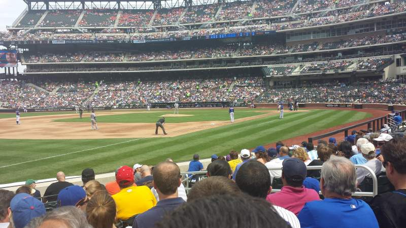 Seating view for Citi Field Section 126 Row 7 Seat 6