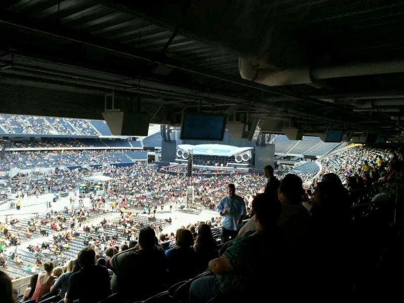 Soldier Field, section: 215, row: 19, seat: 6