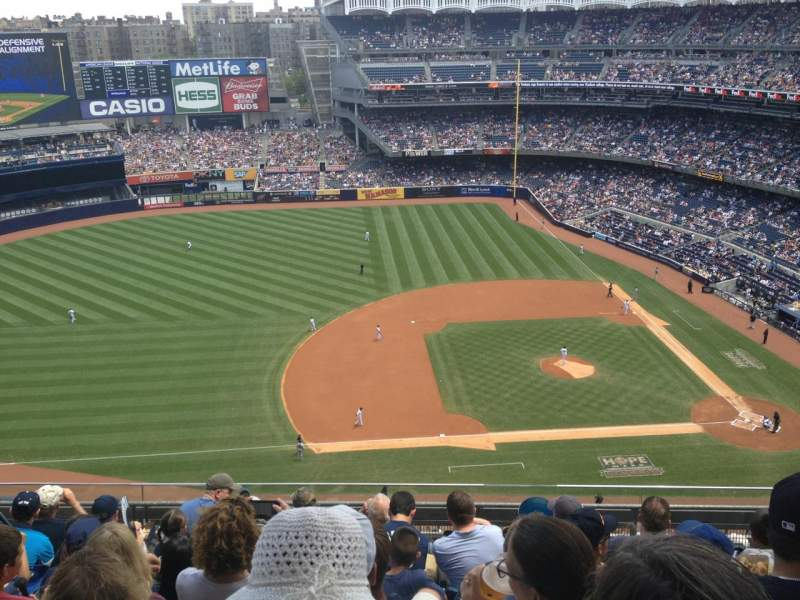 Seating view for Yankee Stadium Section 425 Row 7 Seat 10