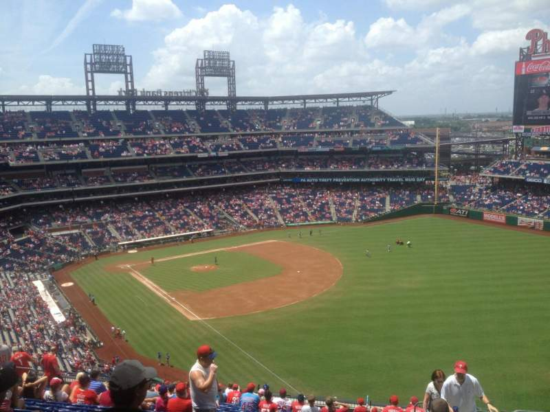 Seating view for citizens bank park Section 308 Row 19 Seat 4