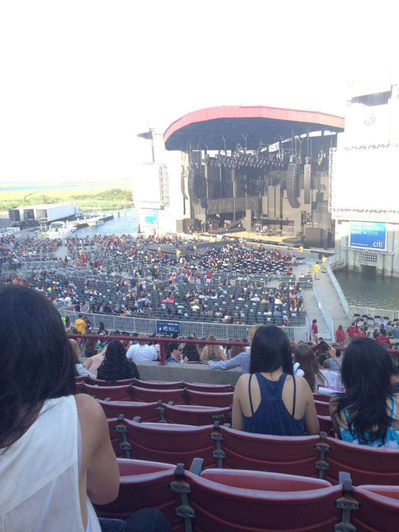 Seating view for Jones Beach Theater Section 2 Row GG Seat 7