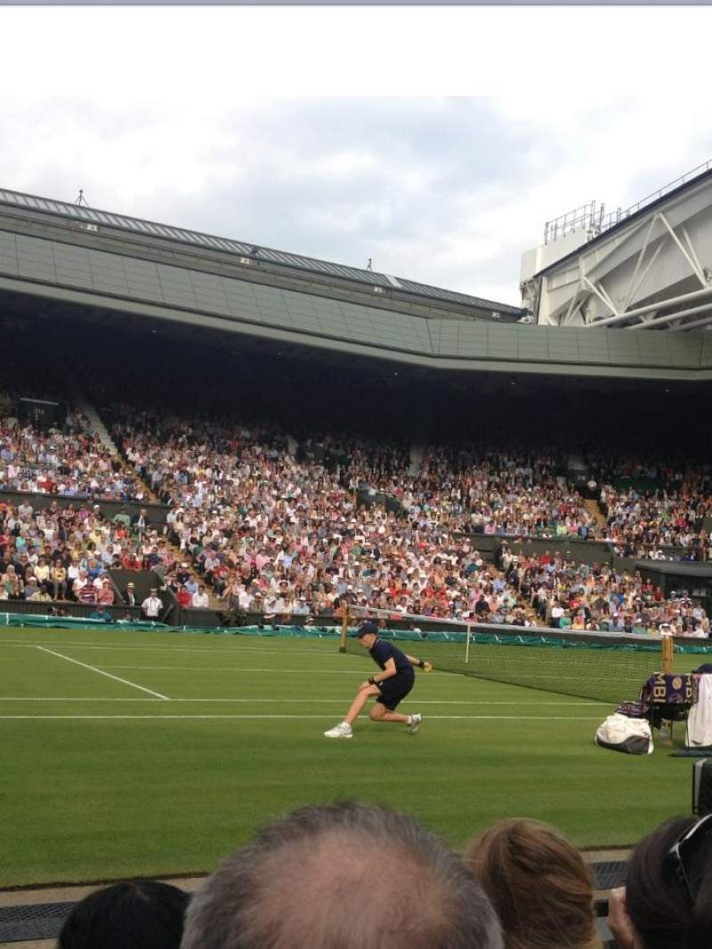Seating view for Wimbledon, Centre Court Section 105 Row C Seat 063