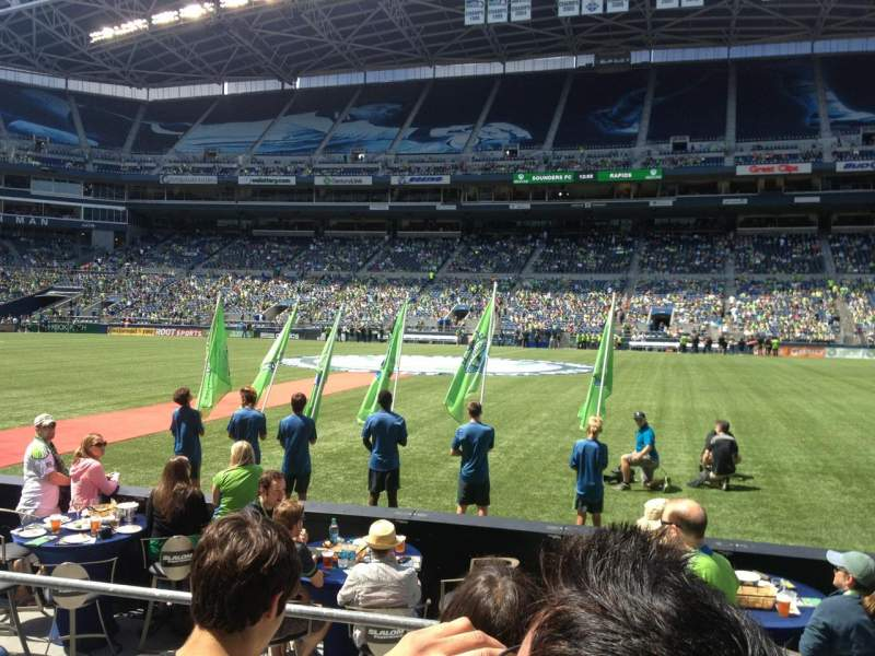 Seating view for Centurylink Field Section 108 Row C Seat 10