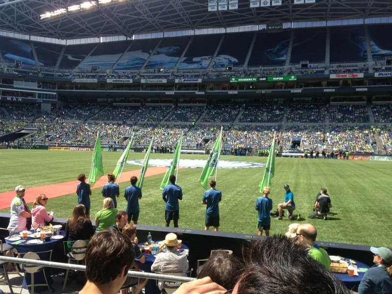 Centurylink Field, section: 108, row: C, seat: 10