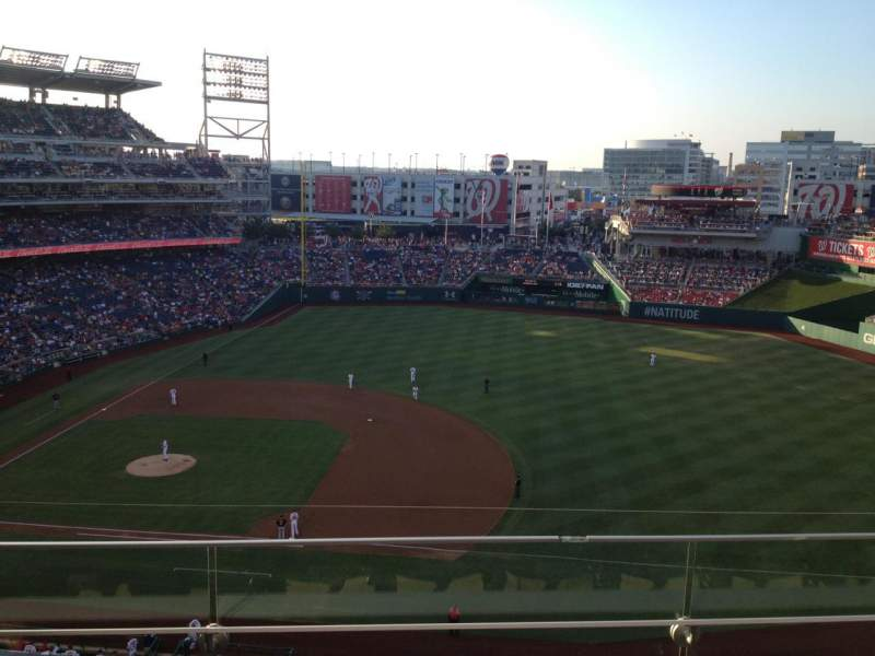 Seating view for Nationals Park Section 320 Row C Seat 5