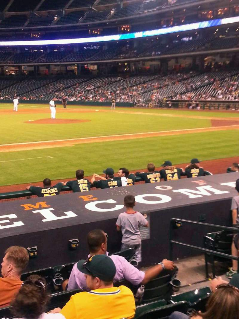 Seating view for Minute Maid Park Section 112 Row 11 Seat 12