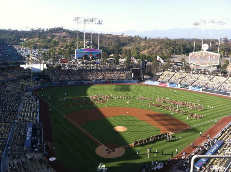 Seating view for Dodger Stadium Section 2TD Row D Seat 17