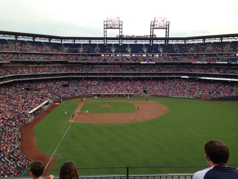 Seating view for Citizens Bank Park Section 304 Row 4 Seat 7