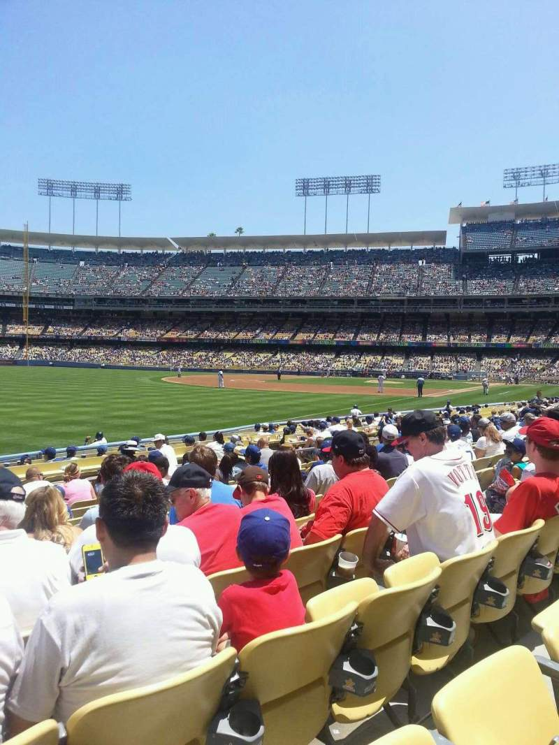 Seating view for Dodger Stadium Section 45FD Row K Seat 20