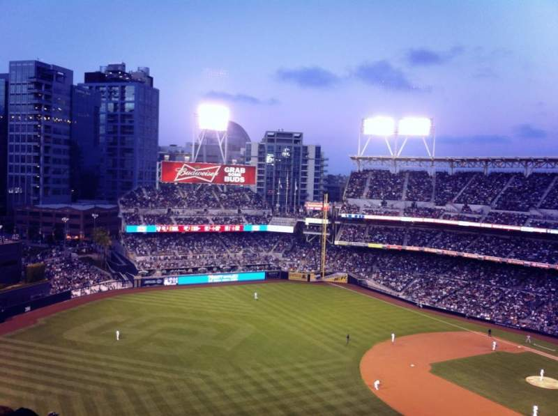 Seating view for PETCO Park Section 324 Row 17 Seat 4