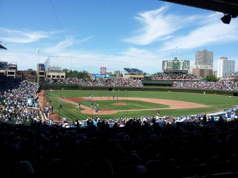 Seating view for Wrigley Field Section 223 Row 9 Seat 4
