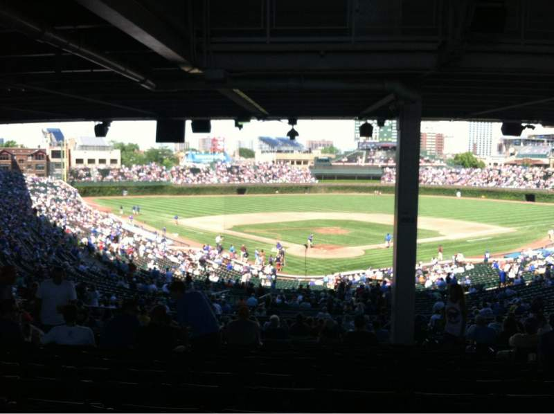 Seating view for Wrigley Field Section 222 Row 19 Seat 103