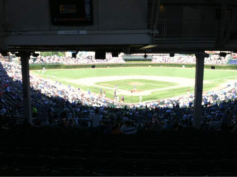 Seating view for Wrigley Field Section 222 Row 23 Seat 110