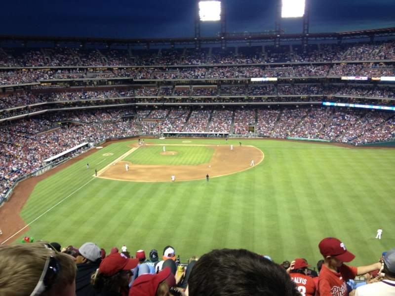 Seating view for Citizens Bank Park Section 302 Row 9 Seat 9